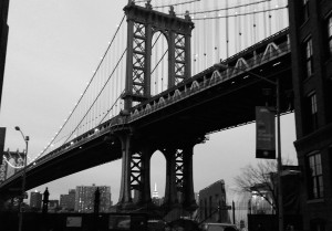 My old friend, the Manhattan Bridge